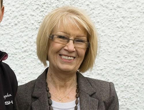 Ann Galbraith,  Présidente de l'association va quitter Ayr